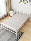 折疊床 折疊床單人床辦公室午睡簡易雙人出租房便攜1.2米家用午休硬板床【快速出貨好康八折】