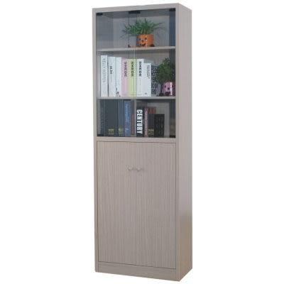 中華批發網:DL-2660-MG 席克思強化玻璃門六格書櫃-秋香色/置物櫃/收納櫃/文件櫃