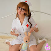 角色扮演COS服裝cosplay-純白俏麗2件式護士服 角色扮演服 (連身裙+護士帽)