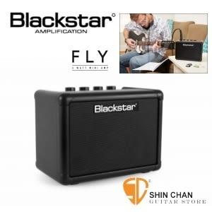 【黑星吉他音箱】【Blackstar Fly3】【可當電腦喇叭/電池可攜帶】【內建破音與Delay效果器】
