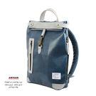 藍色靚麗後背包  AMINAH~【am-0301】