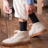 男中筒襪 厚襪子男加厚純棉中筒襪加絨防臭吸汗冬天長襪男士毛巾襪 莎瓦迪卡