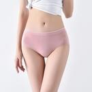 三角褲 莫代爾內褲女中腰日系少女薄款透氣三角褲玻尿酸抗菌無痕收腹提臀-Ballet朵朵