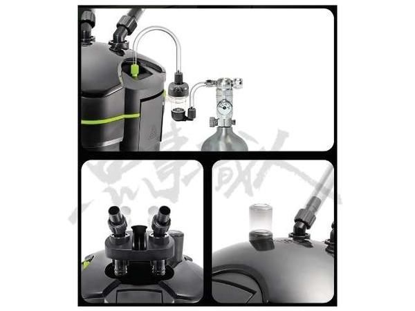 台灣RIO【UV桶式過濾器 UC-4000UV (含6W殺菌燈)】外置式過濾 圓桶 圓筒 可外接CO2設備 魚事職人