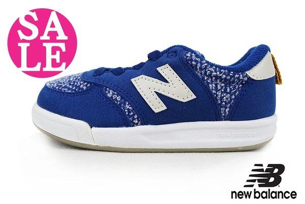 New Balance小童運動鞋 輕量 麂皮 麻布 鬆緊帶 板鞋 休閒鞋 零碼出清 M8506#藍色 OSOME奧森童鞋
