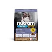 寵物家族-[輸入NT99享9折]紐頓Nutram-I17室內化毛貓雞肉燕麥2KG