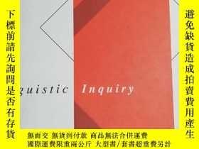 二手書博民逛書店Linguistic罕見Inquiry Volume 49 Nu