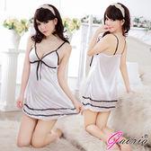 VIVI情趣用品專賣店 性感睡衣 情趣商品 情趣睡衣Gaoria微妙甜心 性感露乳絲綢情趣睡衣睡裙