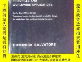 二手書博民逛書店(16開本)罕見MANAGERIAL ECONOMICS Principles and Worldwide APP
