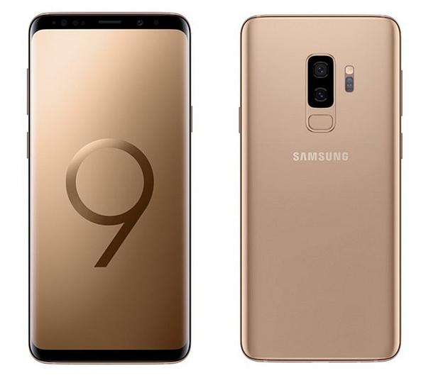 全新未拆SAMSUNG Galaxy S9 Plus S9+ 6/64G 6.2吋 金色新機上市 安卓10系統 三星Pay支援悠遊卡