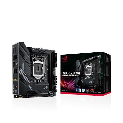 ASUS 華碩 ROG STRIX H470-I GAMING 1200腳位 USB3.2 ITX 主機板