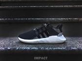 IMPACT Adidas EQT Support 93/17 Boost 黑灰白 條紋 男鞋 運動 休閒鞋 BY9509