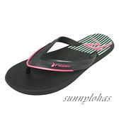 RIDER (男) 巴西拖鞋 天然環保 夾腳拖鞋 海灘鞋 -RI1122822839 黑紅R [陽光樂活](A5)