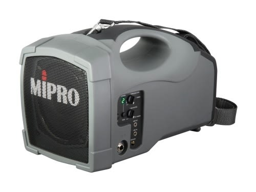 ^聖家^MIPRO 嘉強ACT肩掛/充電式手提無線喊話器(新鋰電) MA-101B【全館刷卡分期+免運費】