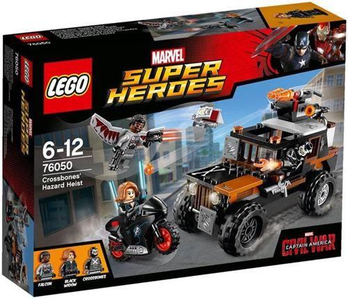 樂高積木 76050 超級英雄 美國隊長3 十字骨攔截戰 ( LEGO Captain America )