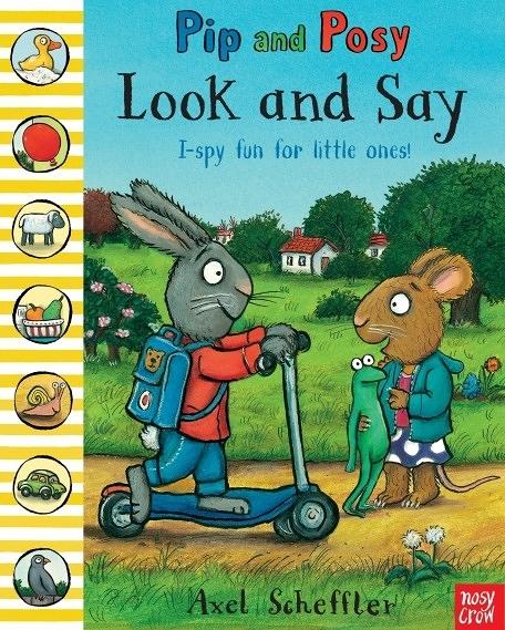 『線上聽.手上讀』PIP AND POSY LOOK AND SAY / 英文繪本 (免費線上聽故事) 《主題:友誼.尋找遊戲》