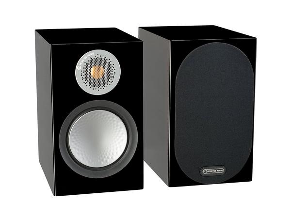 名展音響 英國Monitor Audio  銀Silver 50 書架型喇叭 鋼烤版 桃園音響專賣