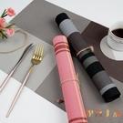4片裝 餐墊pvc防滑隔熱盤墊碗墊水洗速干彩色系列【倪醬小鋪】