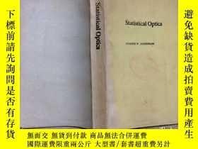 二手書博民逛書店Statistical罕見Optics統計光學(英文)Y2701