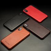 iPhoneX手機殼蘋果X簡約皮革保護套蘋果10后蓋商務皮套 降價兩天