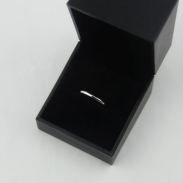 光面對鑽戒指環男女單身戒指