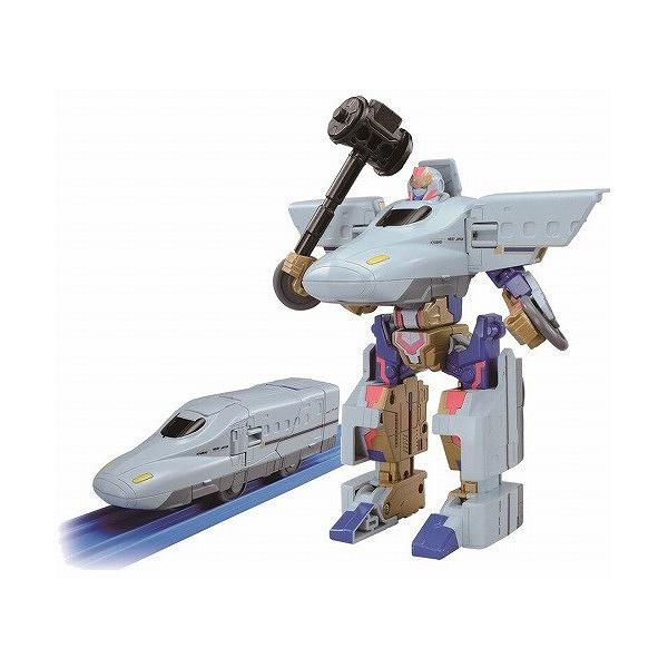 《 TOMICA 》新幹線迷你機器人 ROBOT 700 SAKURA  /  JOYBUS玩具百貨
