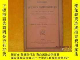 二手書博民逛書店MEMORIAL罕見DES SCIENCES MATHEMATI