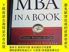 二手書博民逛書店MBA罕見in a Book: Fundamental Principles of Business, Sales