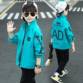 男童春秋裝外套2020新款韓版中大兒童棒球服風衣夾克帥洋氣上衣潮