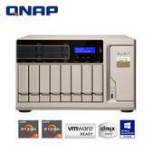 QNAP 威聯通 TS-1277-1600-8G 12Bay網路儲存伺服器