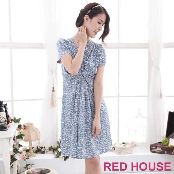 【RED HOUSE-蕾赫斯】V領修身洋裝(共2色)