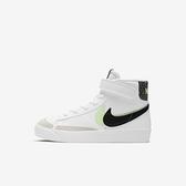 Nike Blazer Mid 77 Se (ps) [DD1848-100] 中童鞋 運動 休閒 舒適 穿搭 白 黑