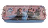 【卡漫城】 冰雪奇緣 三層 鉛筆盒 全員粉紫 ㊣版 鐵製 鐵筆盒文具盒 Frozen 艾莎安娜 Elsa Anna