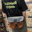 男包 側背包男休閒潮包男士斜背差包韓版皮斜跨小包 黛尼時尚精品