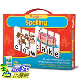 [美國直購] 2016美國暢銷兒童書 Spelling The Learning Journey Match It!