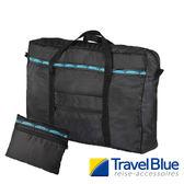 英國Travel Blue藍旅 FoldingToteBag折疊式提袋20L 黑色 TB060 戶外|休閒|旅遊|露營|旅行袋|出國