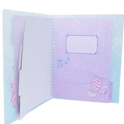DISNEY 愛麗絲B5 26孔活頁夾(漸層閃耀)★funbox★sun-star_UA57145