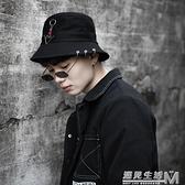 潮人街頭男士漁夫帽韓版百搭個性潮流青年夏季時尚帽子盆帽遮陽帽 遇見生活