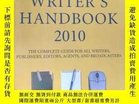 二手書博民逛書店The罕見Writer s HandbookY15389 Tur