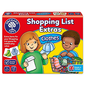 【英國 Orchard Toys】OT-091 兒童桌遊-配對遊戲 衣物採購樂 Shopping List Extras- Clothes