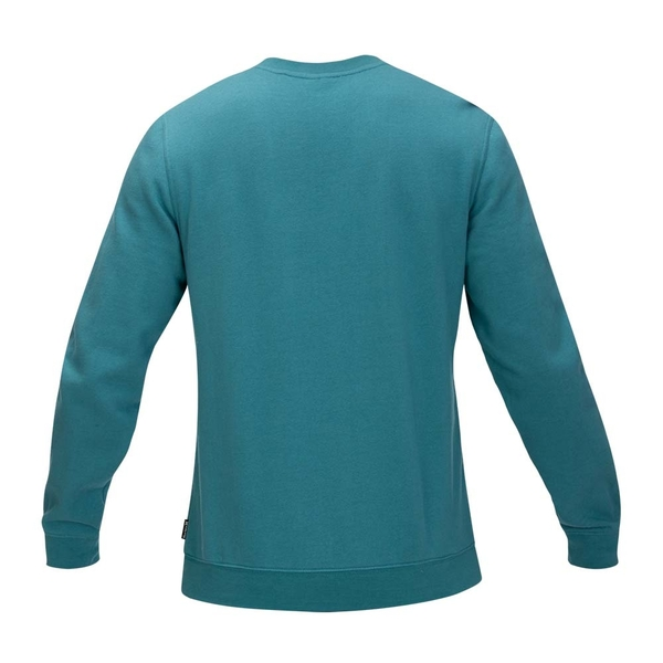 Hurley  M OAO BOXED CREW BLACK  圓領休閒衫-藍綠(男)