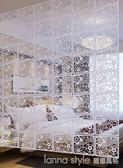 客廳臥室辦公幼兒園歐式玄關屏風隔斷時尚現代創意家居裝飾簾子 YDL