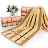 運動洗澡毛巾1.1米純棉加長35×110長款柔軟沖涼吸汗繡字LOGO 城市科技