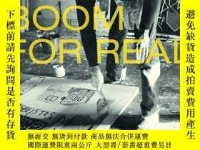 二手書博民逛書店原版罕見巴斯奎特Basquiat: Boom for Real真正的繁榮作品集藝術畫冊畫集圖書Y393700