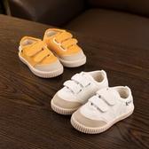 寶寶鞋子1-2歲3男春秋帆布學步鞋女寶寶防滑軟底輕便透氣幼兒秋季