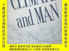 二手書博民逛書店CLIMATE罕見and MAN-Yearbook of Agr