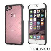 TeicNeo 航太鋁合金手機保護殼 - 思緒(iPhone 7時尚粉)