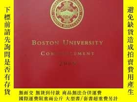 二手書博民逛書店Boston罕見University Commencement