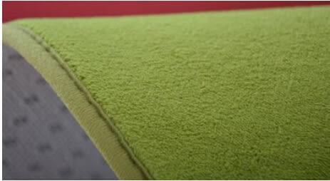 珊瑚絨圓形地毯電腦椅床邊瑜伽墊【藍星居家】