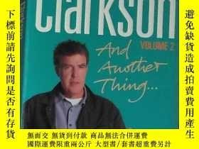 二手書博民逛書店英文原版罕見The World according to Clarkson and another thing
